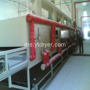 DWC siri fiberboard gypsum board mesh dryer machine